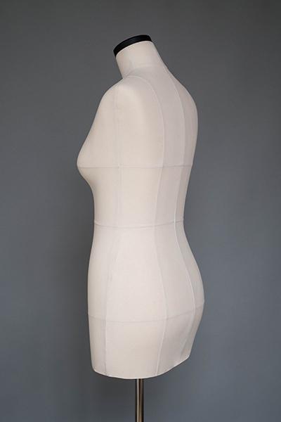 Мягкий портновский манекен 48 размера, вид сзади