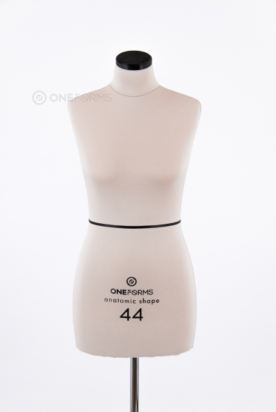 Мягкий портновский манекен 44 размера, вид спереди